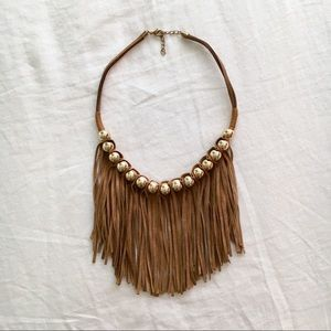Jewelry - Authentic Spanish Suede Fringe Necklace